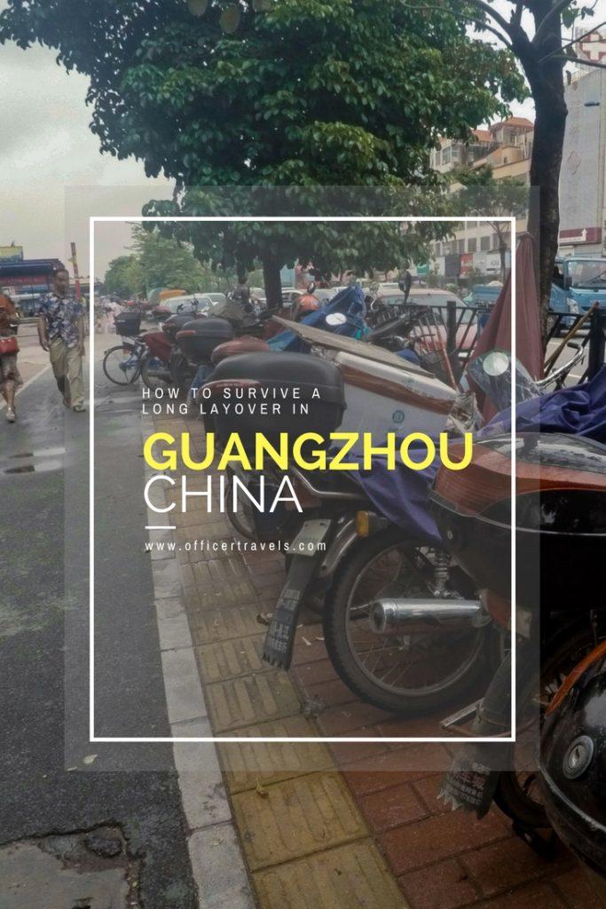 Long layover in Guangzhou