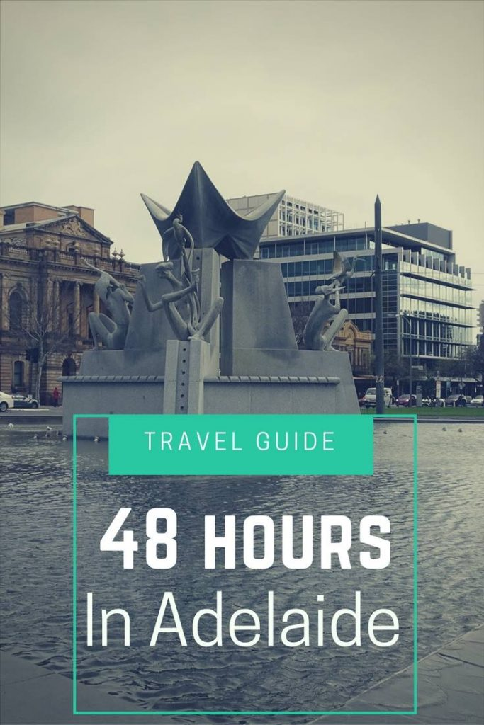 You won't struggle for things to do in #Adelaide! Here's our guide on how to make the most of 48 hours in this peaceful city   #Travel #City #Australia #Destinations