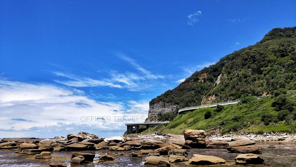 Cliff bridge near Sydney