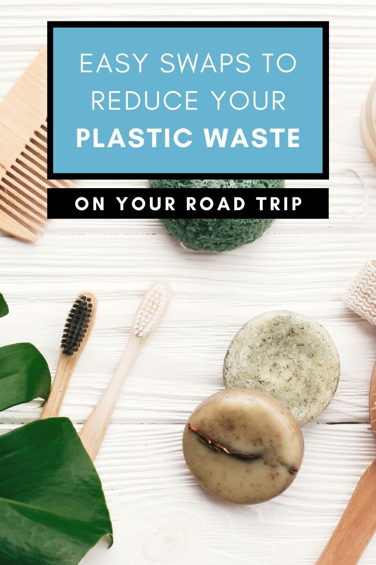 Learn how to reduce your plastic waste when you travel with these 6 easy swaps. Small changes can make a big difference - see what you can do TODAY to reduce your plastic waste when you travel | #plasticfree #ecofriendly #SsustanableTravel