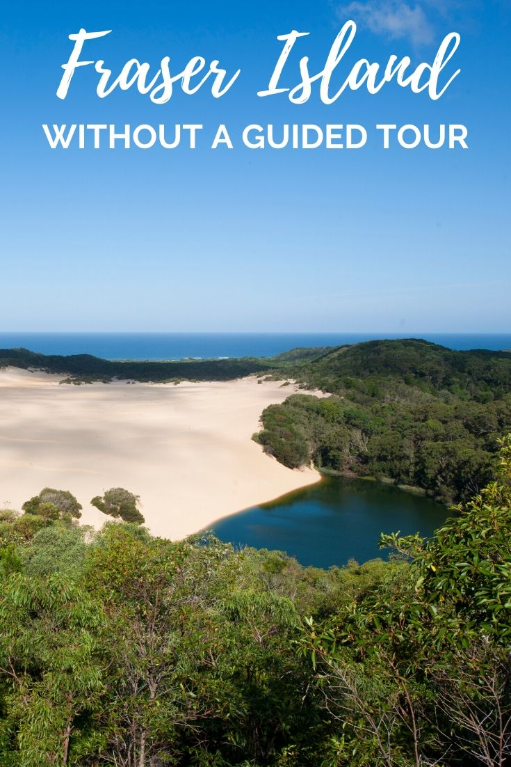 Take a self drive tour of Fraser Island and explore the beaches and forests in your own time. Did you know there's no need to do a Fraser Island tour? You can hire your own 4x4 and explore it on your own! Here's how | Things to see on Fraser Island, How to see Fraser Island, How to get to Fraser Island | #FraserIsland #Australia #RoadTrip