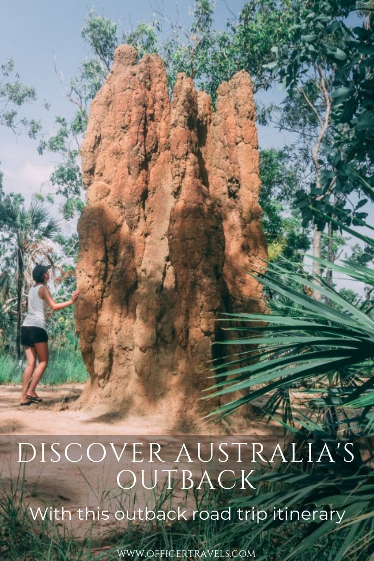The outback is full of natural wonders, and you'll get to see them with our road trip itinerary. | #Australia #outback #roadtrip #northernterritory #thingstodoinaustralia #australiaguide