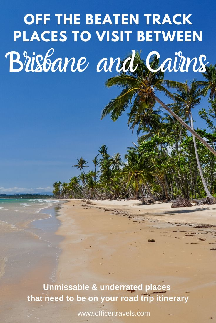 Travelling from Brisbane to Cairns is where we found some of our favourite places in Australia. From pristine beaches to amazing wildlife and incredible people. Find out more about our favourite must see spots between Brisbane to Cairns in this post | #Brisbane #Cairns #Roadtrip #FraserIsland #CoralReef #Mustsee #Australia #travelaus