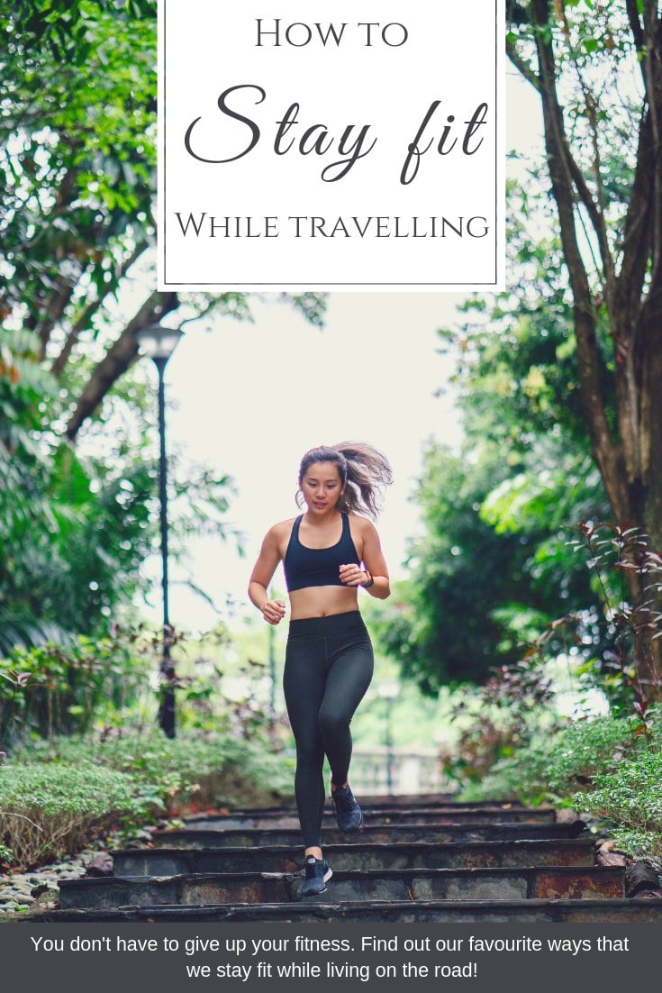 staying fit while living in a van doesn't have to cost a fortune in Gym memberships and equipment! Here are our 5 favourite ways to stay fit on the road, while sticking to a budget!   #Budgetfitness #fittness #travelbudget #travelfit #howtostayfit #healthyliving #travelfitness #vanlife #howtotravel #budgetvanlife   How to stay fit while travelling, how to keep healthy while travelling, staying fit on the road, healthy travelling ideas  