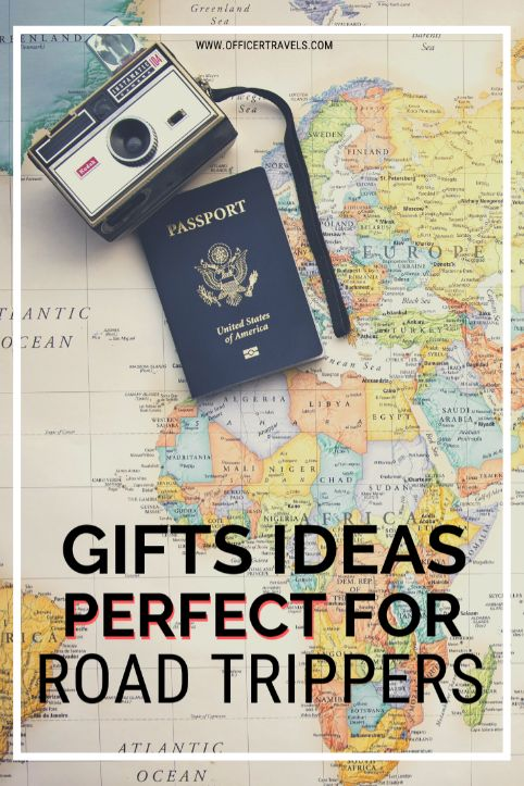 Gifts ideas for road trippers to make their trips a little easier and a lot more fun! | #travelgifts #roadtrippers #giftideas #roadtripping #vanlife #ontheroad #globaltravel | things to buy for a road trip, what to pack for a road trip, road trip gift ideas.