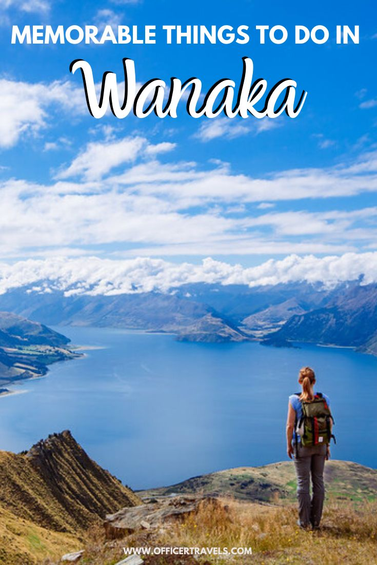 Pinterest image for things to do in Wanaka