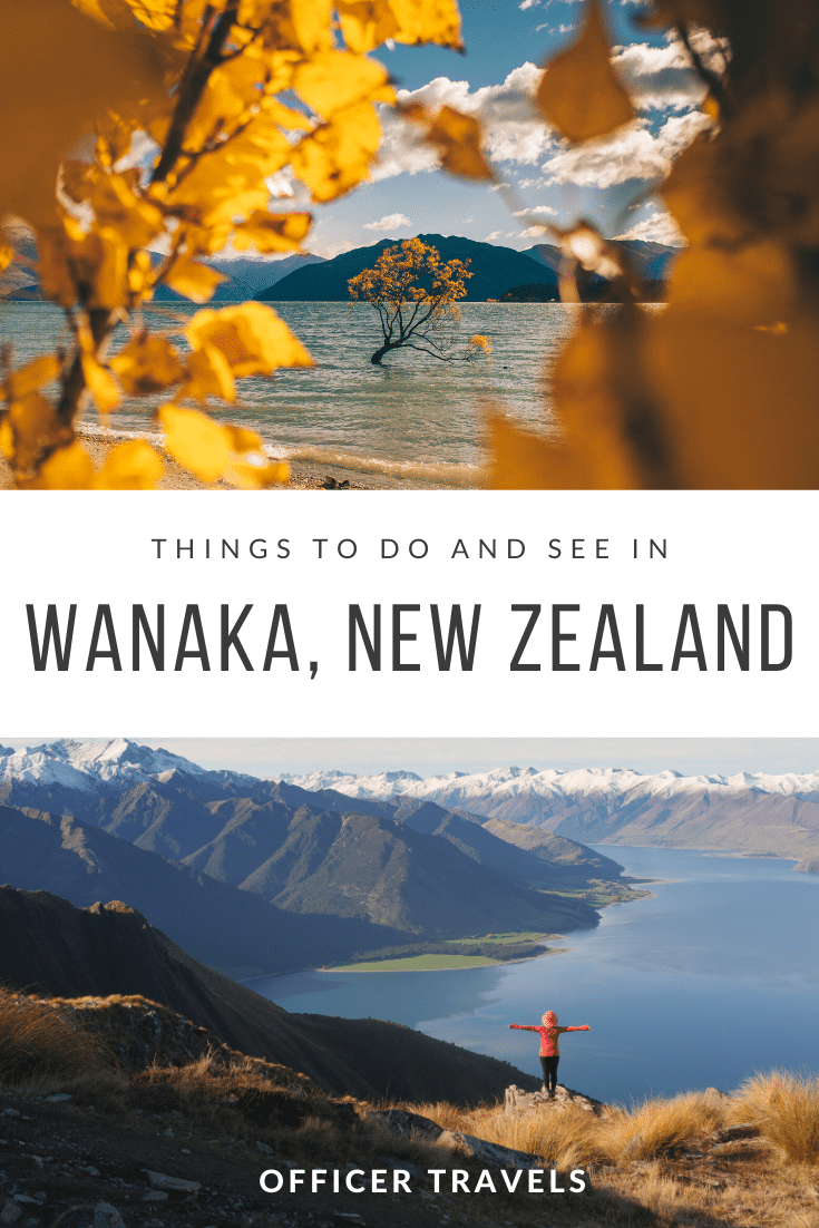 The town of Wanaka is most famous for being home to New Zealand's most photographed tree - 'The Wanaka Tree' - but there's SO MUCH MORE to do here that tourists miss out on when they choose to do a flying visit. In this post we want to give you the rundown on our favourite things to do in Wanaka, from hikes and attractions to tours and food! | #wanaka #newzealand #travelguide #visitnewzealand