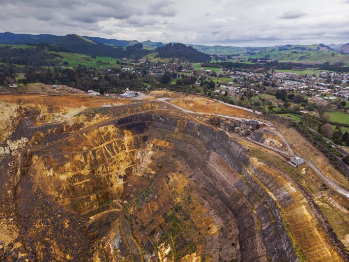 Waihi gold mine is a unique place to visit in New Zealand