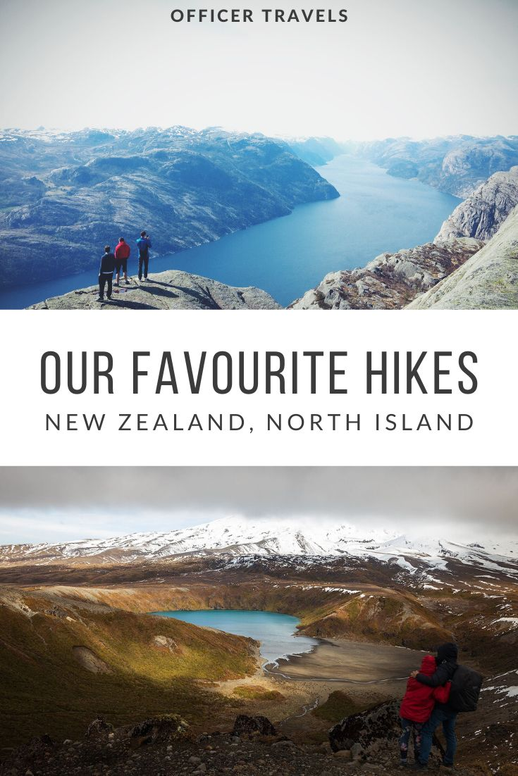 Add these North Island Hikes to your buckets list! The North Island of New Zealand is full of incredible hikes. During our 5 weeks there, we aimed to do as many as possible. Here, we tell you about our favourites! | #hiking #NewZealand #NorthIsland | Things to do on the North Island, Walking Tracks in New Zealand, Where to hike in New Zealand, the best walking tracks in New Zealand |