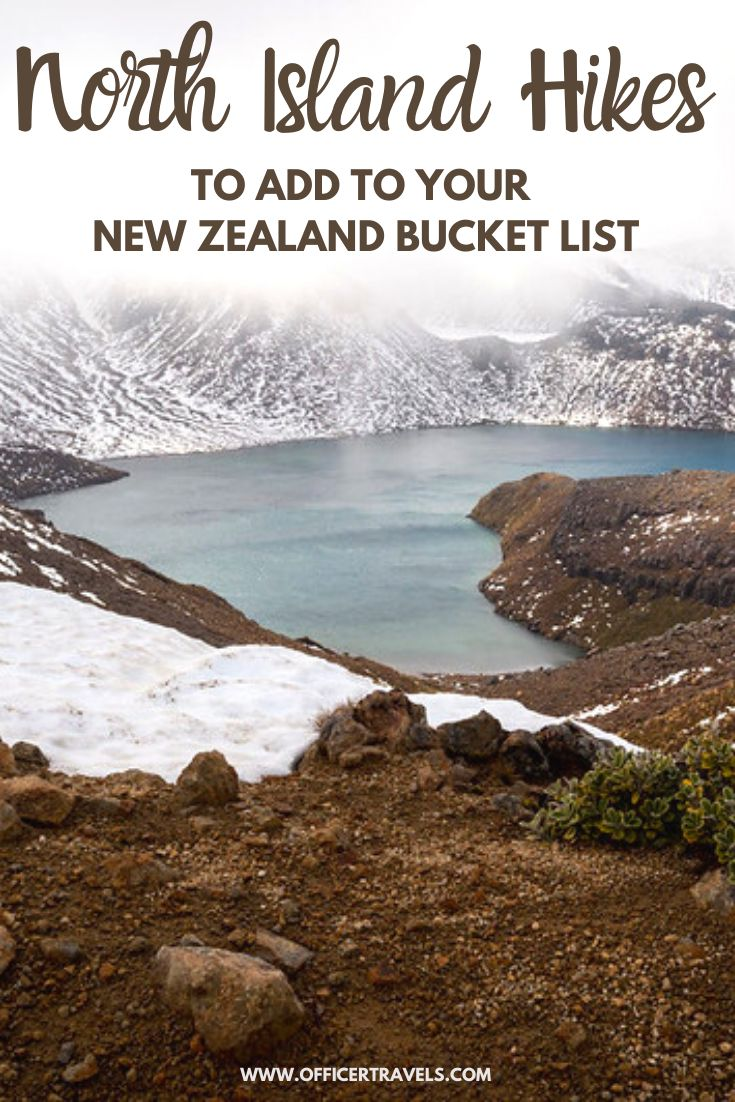 Pinterest image for best north island hikes