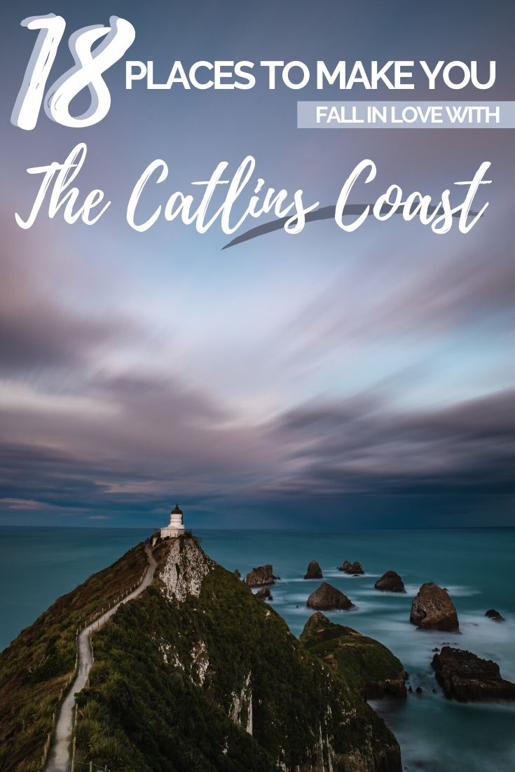 18 Reasons to visit the Catlins Coast - We know you're going to love this end of New Zealand's South Island, but just in case, here are 18 reasons why you need to visit on your next road trip! | Road Trip New Zealand Itinerary, Places to go on New Zealand's South Island, South Island Road Trip Planner, New Zealand South Island Things to do | #NewZealand #RoadTrip #TravelGuide