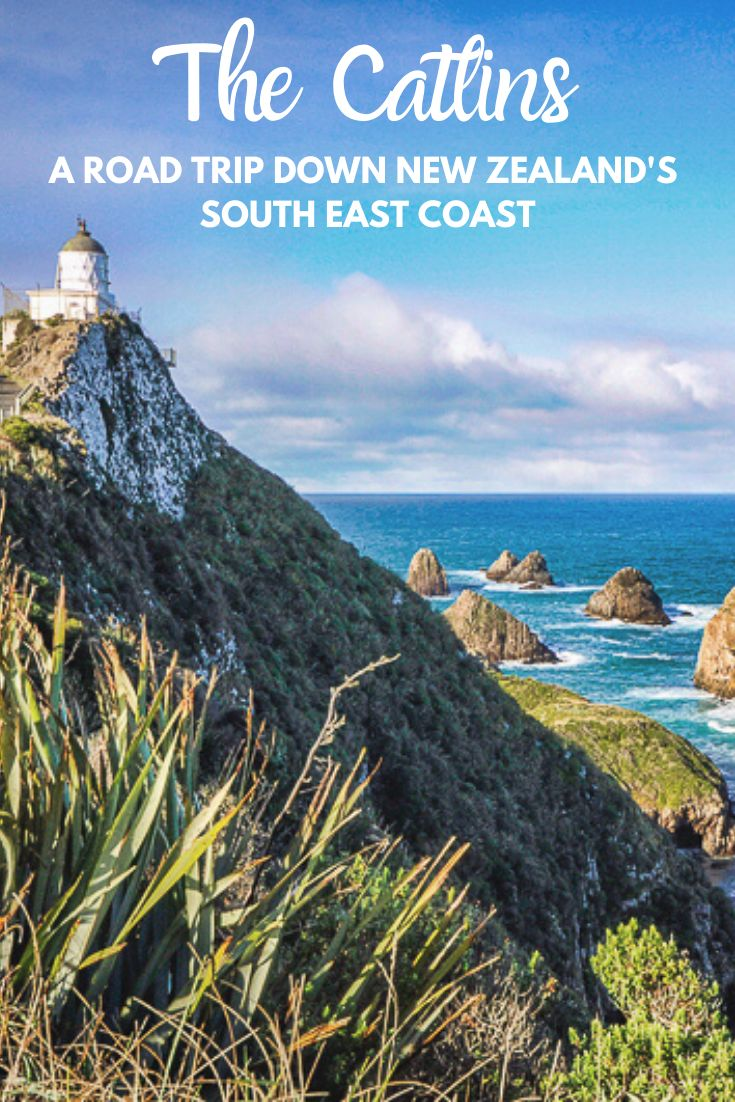 Nugget Point in the catlins