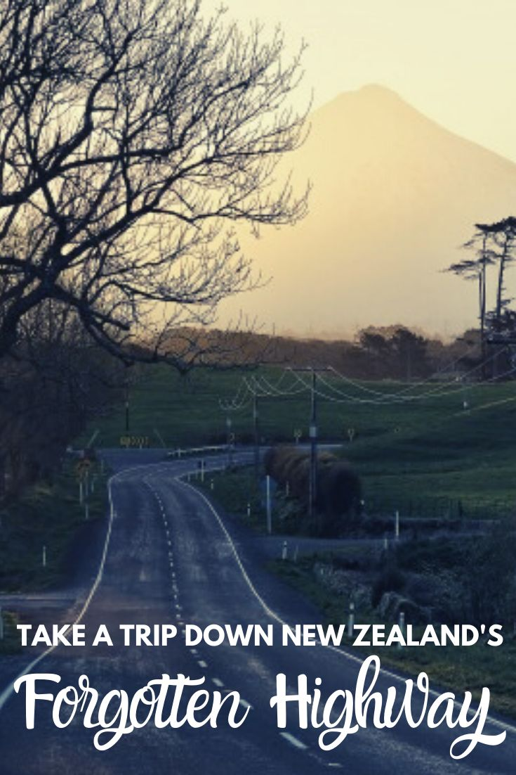 Explore New Zealand's Forgotten World Highway - the countries oldest road. Peppered with waterfalls, hobbit holes and ghost towns this is a road trip route not to be missed! | #NewZealand #roadtrip #travelguide #NorthIsland |
