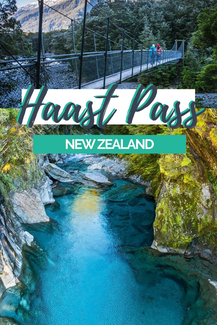 A road trip down Haast Pass is definitely worth your time. There's more here than you might think, beautiful waterfalls, stunning scenery and scenic mountain roads. Take your time on the Haast Pass and enjoy the beauty of New Zealand's South Island | Travel New Zealand, Road Trip New Zealand's South Island, South Island Itinerary | #SouthIslandNZ #NewZealand #RoadTrip