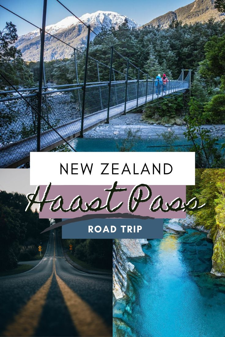 Drive to New Zealand's West Coast visa the Haast Pass - You won't regret it! This stunning road is home to some of the countries best waterfalls and ruggest weather beaten landscapes | Things to see on the Haast Pass, Haast Pass Itinerary, Must-See Things on the Haast Pass | #HaastPass #NewZealand #Travel #RoadTrip