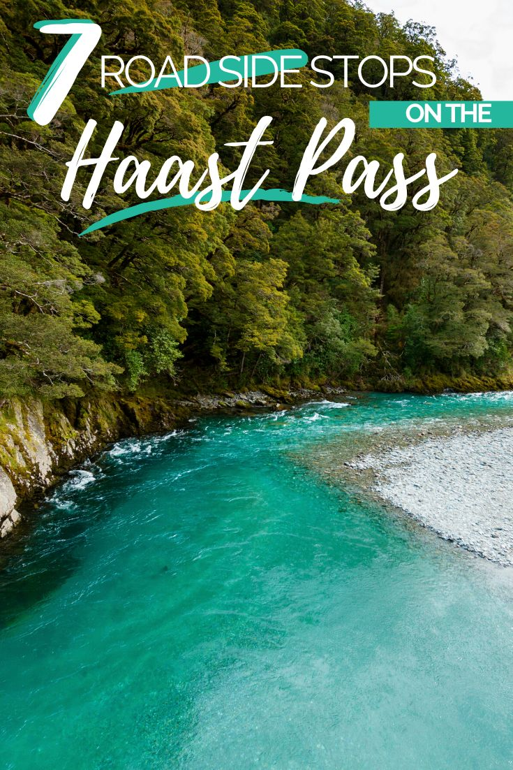Explore the Haast Pass' rugged landscape as you make your way to New Zealand's West Coast. This is a road worth exploring. See waterfalls, wildlife and insane scenery as you make your way to the coast of New Zealand | Things to do on New Zealand's West Coast, West Coast New Zealand Itinerary, Travel New Zealand | #NewZealand #HaastPass #RoadTrip