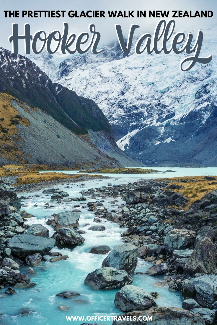 Hooker Valley Track Pinterest image