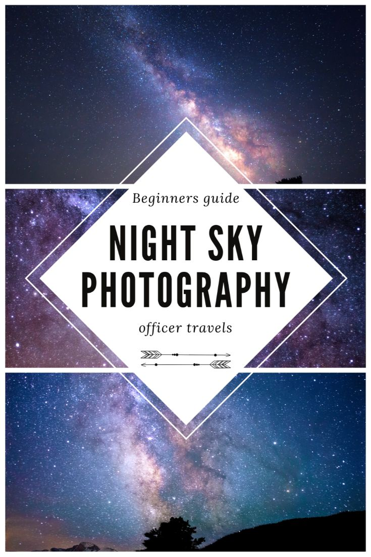 Pinerest image for astrophotography for beginners