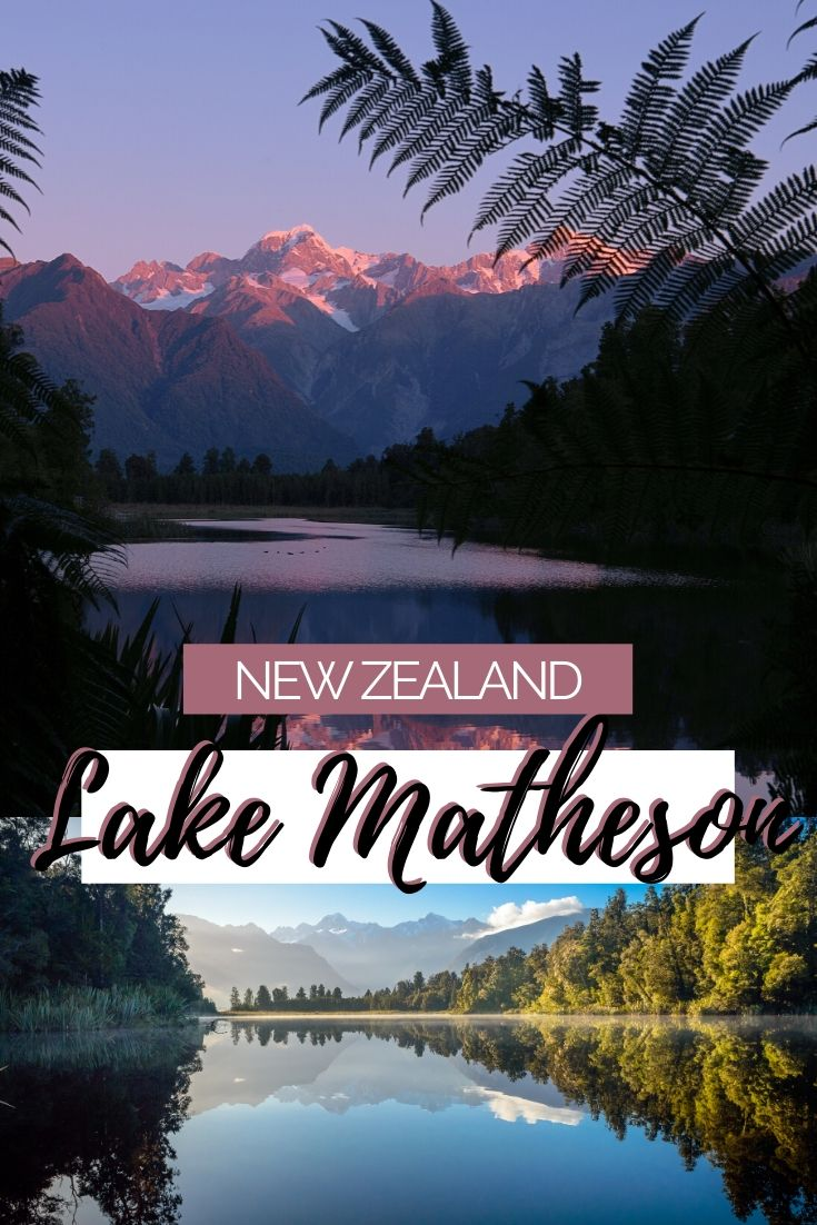 A complete guide to our favourite Mirror Lake in New Zealand. Lake Matheson is a must when you're travelling the West Coast. Find out everything you need to know about this special location | West Coast road trip, things to see on the West Coast, New Zealand lakes, Places to see in New Zealand, Where to find New Zealand Mirror Lakes, New Zealand itinerary, New Zealand hidden gems | #NewZealand #roadtripNZ #TravelGuide #LakeMatheson