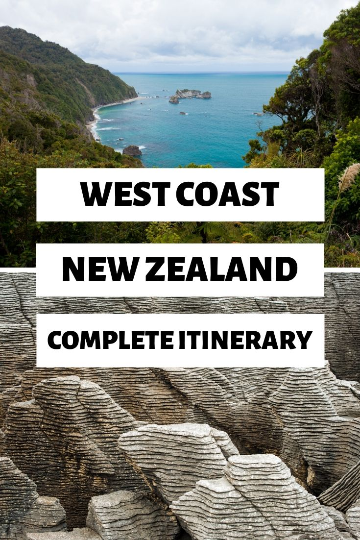 The West Coast of New Zealand is a road trip must when you're travelling New Zealand. Here are 12 must-see places along the West Coast to make your road trip even better! | Road Trip New Zealand's West Coast, Places to See on the West Coast, West Coast Road Trip Itinerary | #Westcoast #NewZealand #RoadTrip