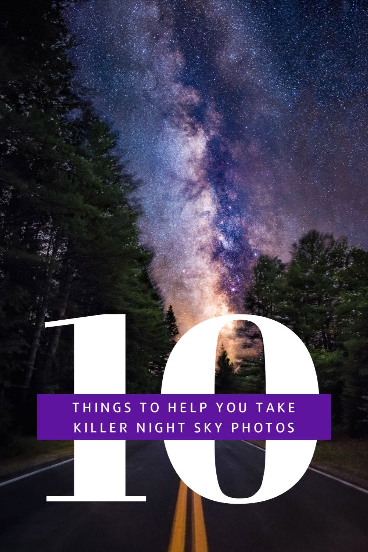 Pinterest image for astrophotography for beginners