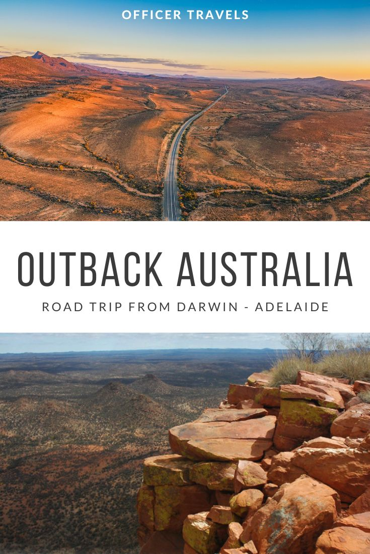 pinterest image for Darwin to Adelaide road trip