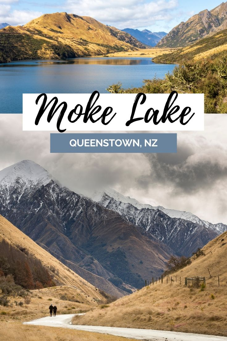 Moke Lake is a hidden lake located very close to Queenstown, so close I expected the Moke Lake Loop Track to be busier than it was! Find out why you need to add Moke Lake onto your Queenstown itinerary | #Lakes #Queenstown #NewZealand