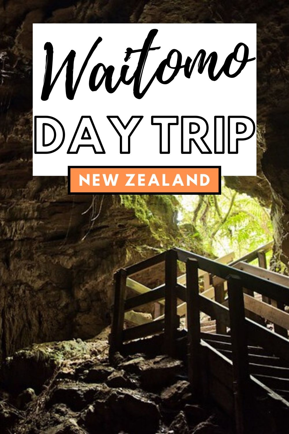 Here are 9 free things to do in Waitomo that you didn't know were there! From a beautiful waterfall to some great hikes, and even free glow worm caves! There's more to Waitomo than the famous glow worm adventure tours | New Zealand North Island, New Zealand Road Trip, Waitomo Glow Worm Tours, New Zealand Bucket List | #NewZealand #GlowWorms